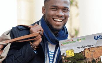 The M-PESA PrePay VISA Safari Card