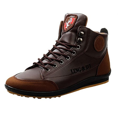 Leather Boots Sports Casual Shoes