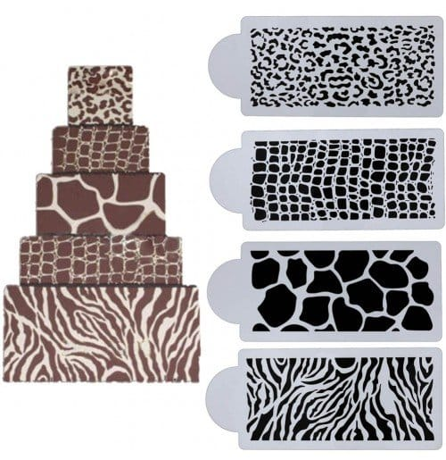 Animal Print Stencil - start a small bakery business in Kenya
