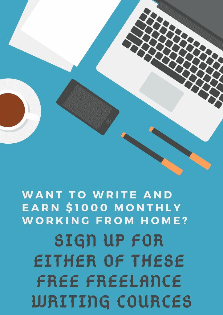 Free Freelance writing courses