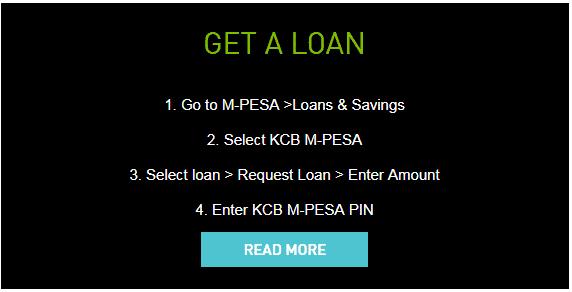 KCB Mpesa Loan App