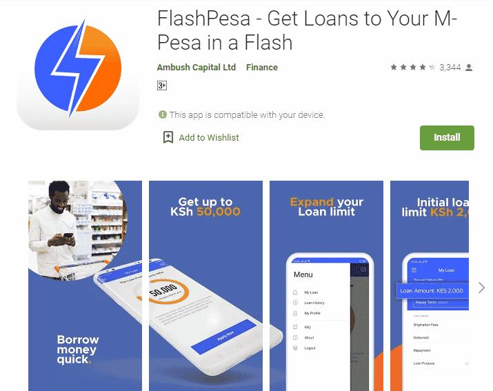 FlashPesa Loan App