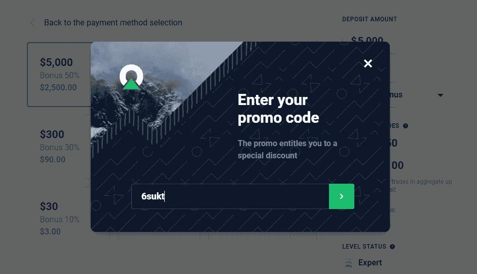 Promo code -Olymp Trade