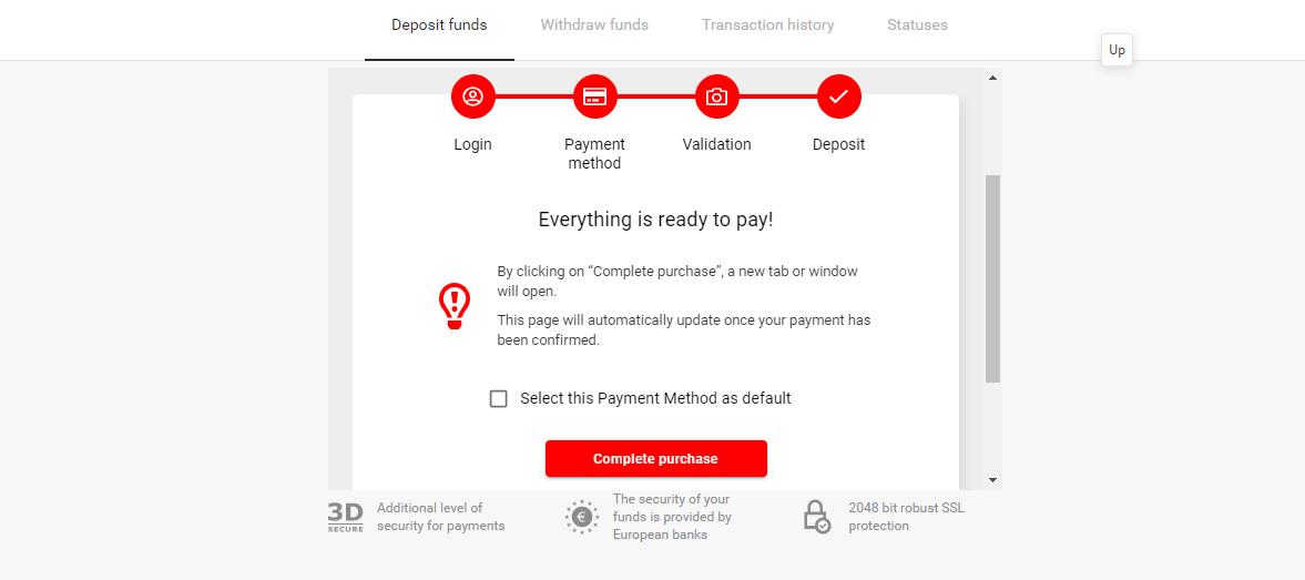 Fund Binomo with Mpesa, equitel, Visa or perfect money