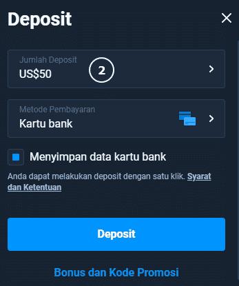 Minimum deposit amount Olymp Trade $10
