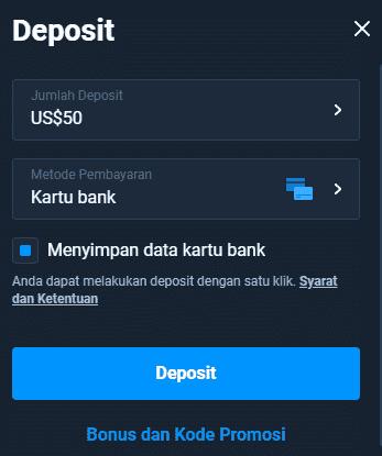 Olymp Trade Visa Deposit for Indonesia