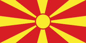 North Macedonia-flag