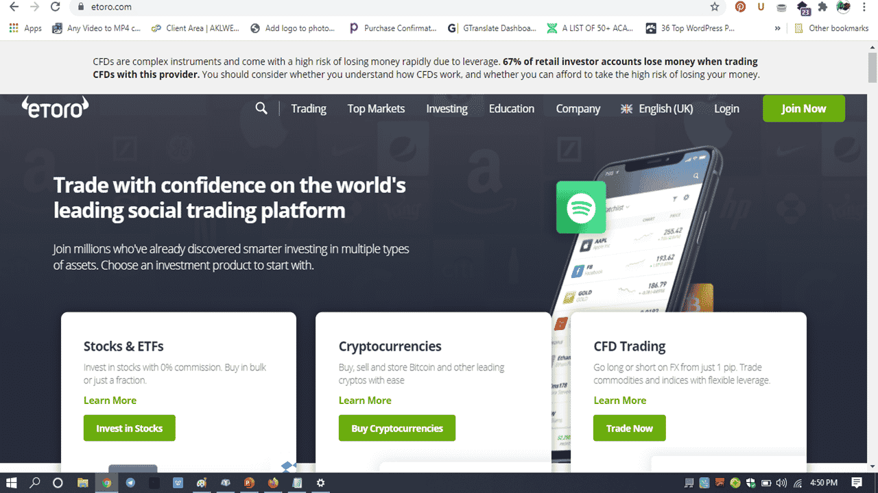 eToro Review for 2021 | Is Social Trading Enough Reasons to Settle for this Broker?